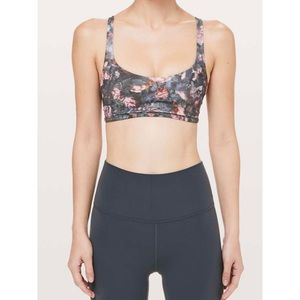 LULULEMON RARE free to be bra frosted rose size 2